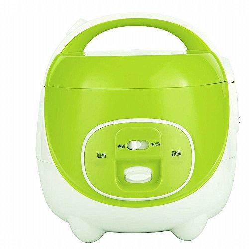 ZH Mini Reiskocher 2L1-3 Studenten Kochen nach Hause,Grün