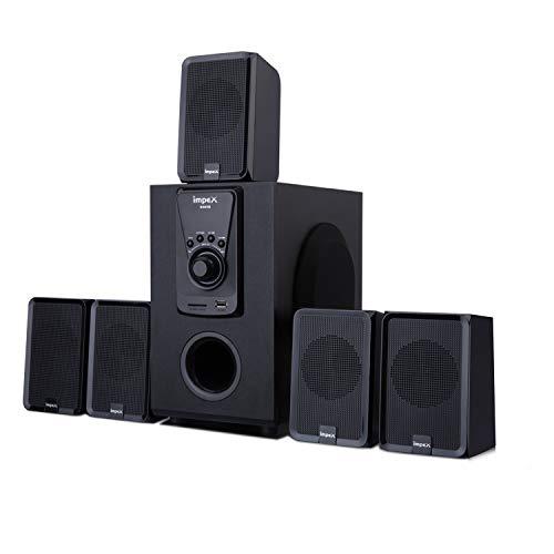 Impex 5.1 Santo 45 W Multimedia Bluetooth Speaker System (Black)