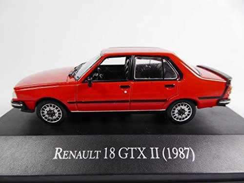 OPO 10 - Renault 18 GTX II 1987 Colección de Autos Argentinos 1/43 (AR18)