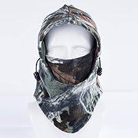 BaBaSM Praktisch Windproof Gesichtsmasken-Hut, Unisexwinter-Fleece-Warmer Hut Motorrad Windproof Gesichtsmasken-Hut-Hals-Sturzhelm Beanies Fahrrad, 03