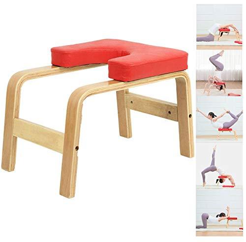 Q&Z Yoga Kopfstandhocker,Perfekten Yoga KöRper Chair Hilft Trainingsstuhl Schwerkrafttrainer Komfortables Polster FüR…