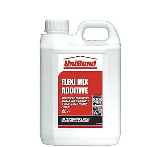 UniBond 730267 Flexi-Mix -  Additivo per preparazione di adesivi per piastrelle, 2 litri - Mix Piastrelle