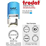 Trodat Printy 46031 Round Self Ink Stamp with Your Customized Matter Rubber Stamp