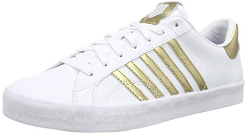 k-swiss-belmont-so-damen-sneakers-weiss-white-gold-41-eu-7-damen-uk