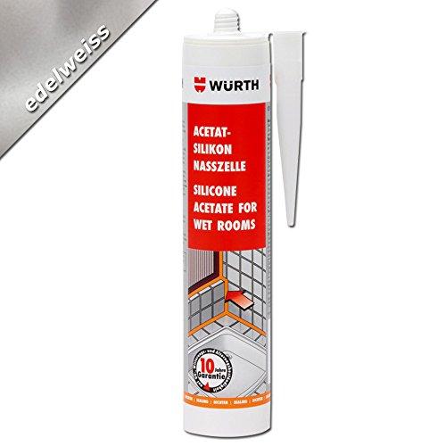 wurth-acetat-silikon-nasszelle-edelweiss-310-ml-kartusche