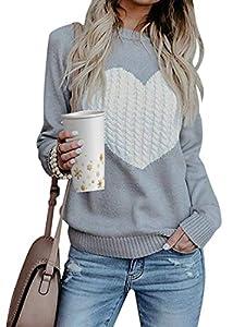 Tuopuda Mujer Jerséis Punto Suéter