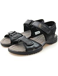 Minitoo - Sandalias con cuña hombre , color Gris, talla 38 EU