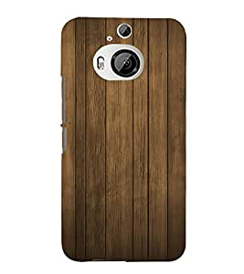 Classic Wood Design 3D Hard Polycarbonate Designer Back Case Cover for HTC One M9+ :: HTC One M9 Plus