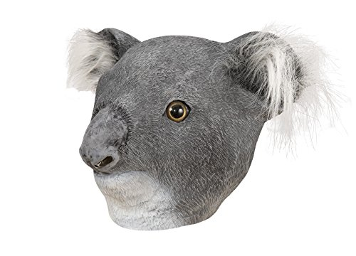 P \'tit Clown 41062Maske Erwachsene Latex Integralhelm Koala, Einheitsgröße