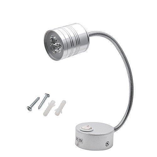 Interior Light – MASO Caravan lighting Led superstructure gooseneck 12v Cylindrical headlights White Light
