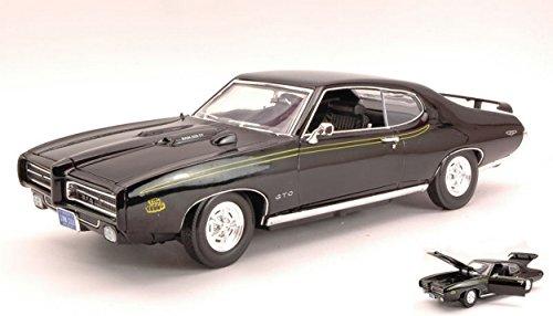 motormax-mtm73133bk-pontiac-gto-judge-1969-black-118-modellino-die-cast-model