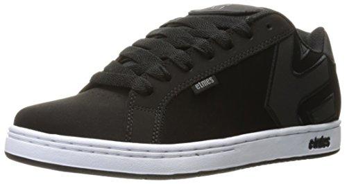 Etnies Fader, Sneakers Basses Homme Noir (Black/white/silver)