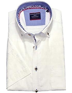 Casamoda Herren Business-Hemd weiß
