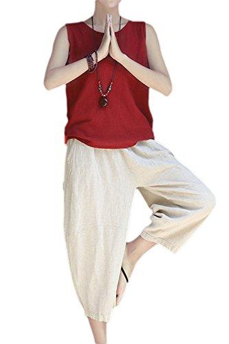 Schlaf Hose Frauen Sommer Shorts Waschen Baumwolle Crepe Gaze 100% Baumwolle Dünne Lose Große Größe Hause Hosen Freizeit Kurze Hosen Damen-nachtwäsche Schlafhosen