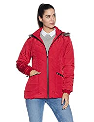 Fort Collins Womens Cape Hoodie (6627 AZ_red_L)