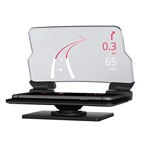 Elenxs GPS Coche HUD Head Up Display navegación Inteligente