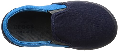 Crocs Citilane Slip-on Sneaker K Navy/ocn, Sneakers basses mixte enfant Bleu (Navy Ocean)