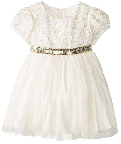 Rare Editions Kleid (Traumhaftes Petticoatkleid in ivory/goldvon Rare Editions Gr. 92,98,104 Größe 98)