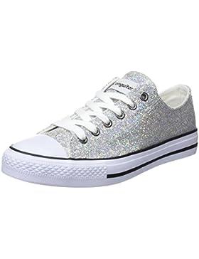 Conguitos Basquet Glitter, Zapatillas Para Niñas