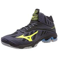 MIZUNO Wave Lightning Z4MID Men's Volleyball Shoes, 9 UK, Black
