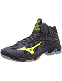 low cost a9c43 cb0a6 Mizuno Men s Wave Lightning Z4 Mid Volleyball Shoes