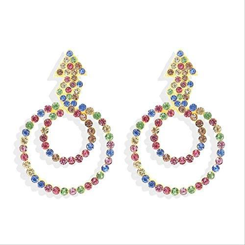 Orecchino KBWL Orecchini pendenti di moda da donna nuovi Orecchini da donna in cristallo Regalo16