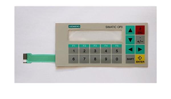 for HMI Membrane Keypad Film for SIEMENS OP3 6AV3503-1DB10 OP3 Operate Panel