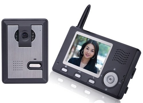 ALEKO LM162 89 mm Display Intercom Wireless Video Door Phone System