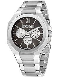 JUST CAVALLI Herren - Armbanduhr STRONG Analog Quarz Edelstahl R7253573003