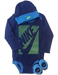 Nike Baby-Set Mütze Strampler Socken 3.TLG