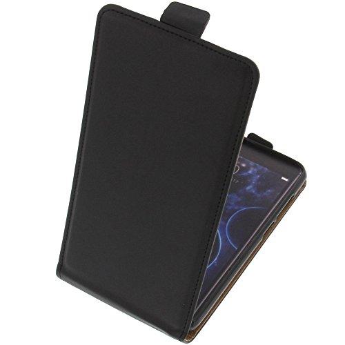 foto-kontor Tasche für Doogee Shoot 2 Smartphone Flipstyle Schutz Hülle schwarz