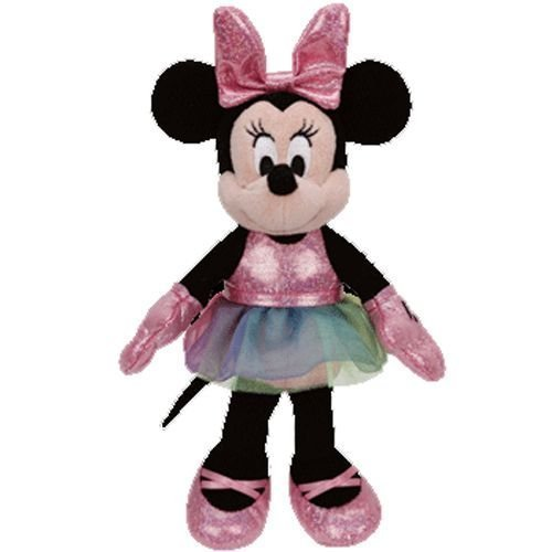 Ty Disney Minnie Mouse - Ballerina Sparkle Medium by Ty Beanies (Beanie Ty Mickey)