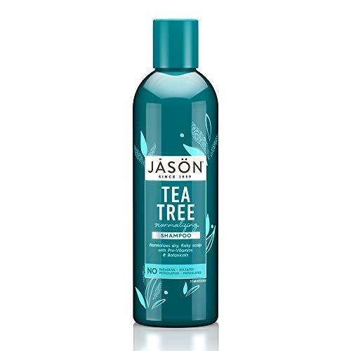 Jason Natural, Shampooing pour le cuir chevelu normalisé, Arbre e thé, 17.5 fl oz (517 ml)