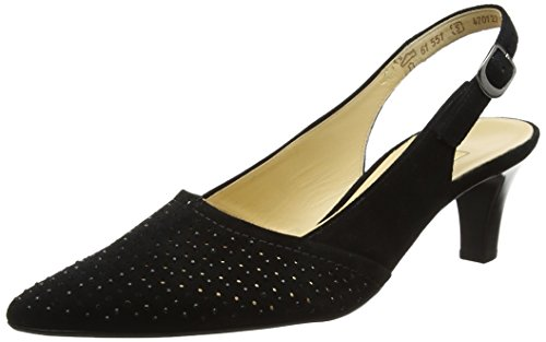 Gabor Shoes Damen Fashion Pumps, schwarz 17, 38 EU -