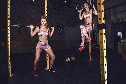 Fringoo - Legging de sport - Femme Multicolore Bigarré Taille Unique MULTI shorts