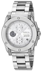 Reloj Breil TW0732 de caballero de cuarzo con correa de acero inoxidable plateada de Breil