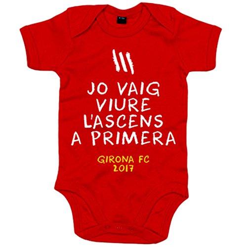 body-bebe-girona-fc-jo-vaig-viure-l-ascens-a-primera-liga-santander-rojo-12-18-meses