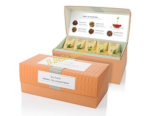 Tea Forte Coffret Herbal Retreat Assortiment Infusions 20 pyramides