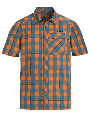 VAUDE Herren Men's Prags Shirt II Hemd, orange Madder, 52
