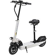 LA&NA Mini scooter portátil scooter eléctrico plegable , white