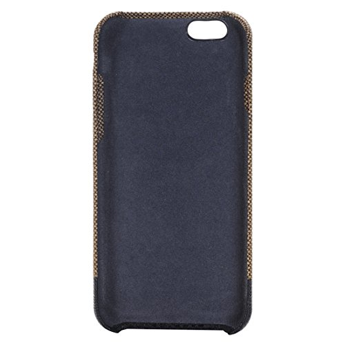 Phone case & Hülle Für iPhone 6 Plus / 6s Plus, Cross Texture Schutzmaßnahmen zurück Fall ( Color : Gold ) Brown