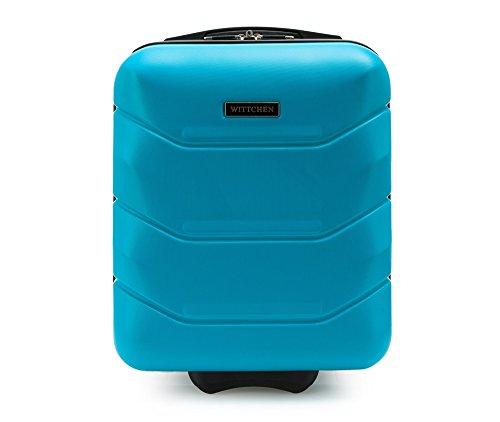 WITTCHEN Trolley Bagaglio a mano - Valigia rigida | Colore: Blu | Materiale: ABS | Dimensioni: 25x42x32 | Peso: 2 kg | Capacità: 25 L | 2 ruote - 56-3A-281-90