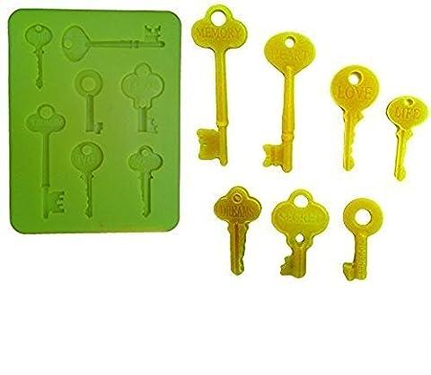 Moule en silicone pour une utilisation Artisan Représentant Calco Of The 7 Keys