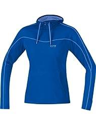 GORE RUNNING WEAR Damen Kapuzen-Langarm-Laufshirt, GORE Selected Fabrics, ESSENTIAL LADY Hoody, SESSLH