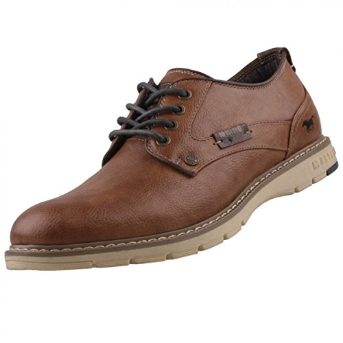 Mustang Herren Halbschuhe Braun, Schuhgröße:EUR 43