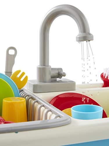 Vertbaudet Spüle mit Geschirr für Kinder Mehrfarbig ONE Size