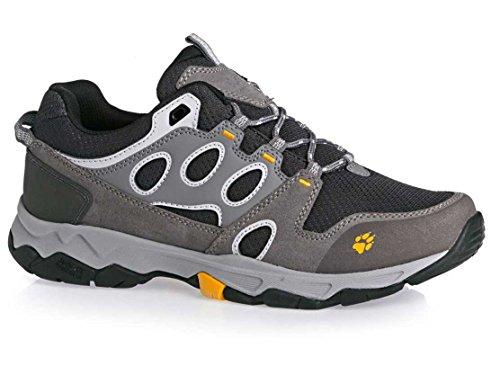 Jack Wolfskin, scarpe da trekking e da escursione da uomo, Mtn Attack 5Low M, (grigio), 7 UK