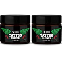 Beardo Tattoo Shiner Gel, 50 gm (Pack of 2)