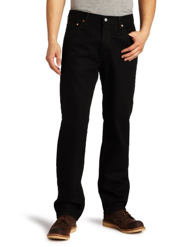 Levi's Herren Jeans - schwarz - - Levis 550 Jeans