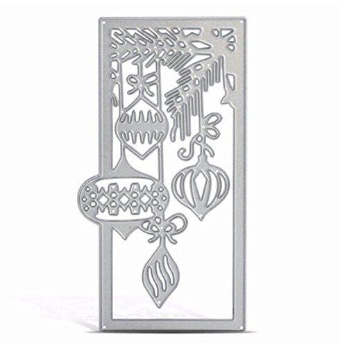 Werse Metall Laterne Muster Stanzformen Formen Für DIY Weihnachten Papier Karte Handwerk Schablone Scrapbook Geschenke - Scrapbook-papier Weihnachten